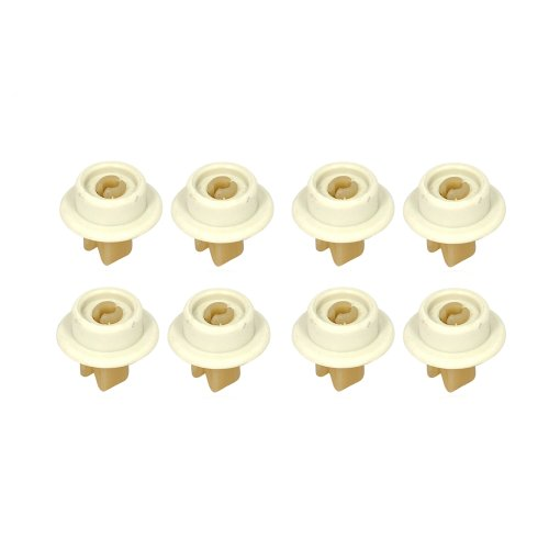 Zanussi lavavajillas ruedas para cesta inferior de juego de ruedas (8 piezas) Zanussi
