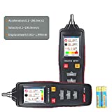 Graigar VM-6310 Digital Vibration Meter Data Logger Vibrometer Meter Tester Gauge VM6310 with Velocity 0.01 to 199.9mm//s