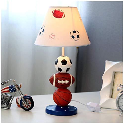 Blaue Kugel kreative LED Tischlampe - Schlafzimmer Fußball Baseball warmes Licht Kind warme süße junge Geschenk