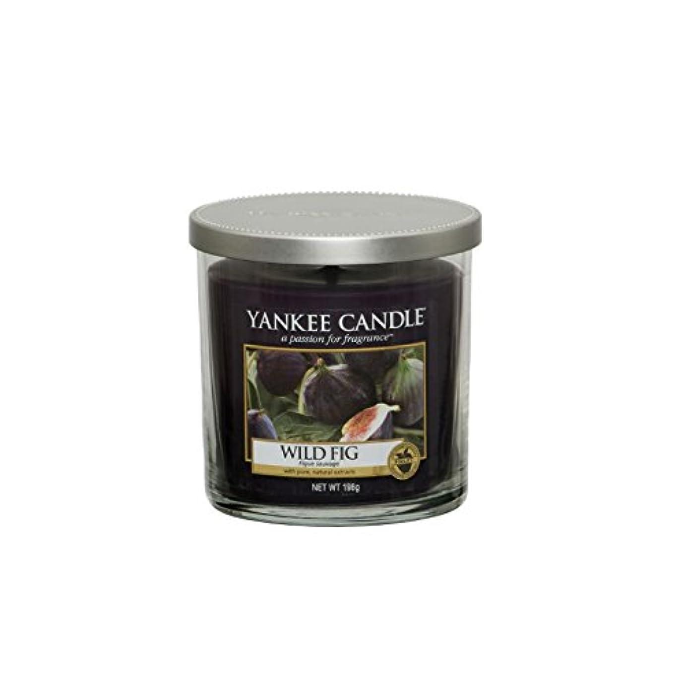 プレビスサイトめる堀ヤンキーキャンドルの小さな柱キャンドル - 野生のイチジク - Yankee Candles Small Pillar Candle - Wild Fig (Yankee Candles) [並行輸入品]