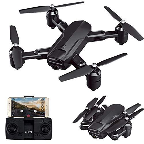 ZHCJH Drone GPS con cámara 4K 5G FPV Flujo óptico de Largo Alcance Smart Follow Me Drone Plegable Vuelo Largo con Maleta