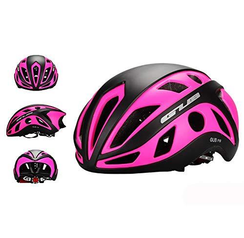 LOO LA Une pièce Casque de Vélo avec Doublure en Sueur de VTT Réglable Casque Trotinette Adulte Helmet Casque Velo Urbain pour BMX Alpinisme 22 Grandes Ouvertures,Violet