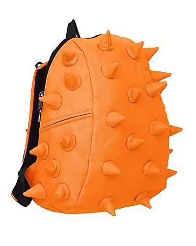 "MadPax "" Spiketus Rex Half "" Mochila original 3D (35x30x15cm), Naranja"