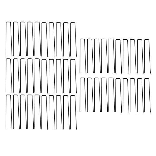 Camisin - Grapas de césped tipo U para césped artificial (50 unidades)