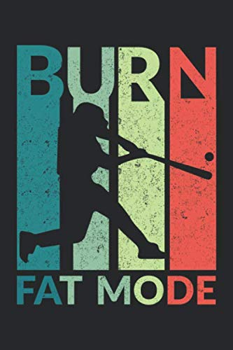 Burn Fat Mode: Burn Fat Mode Mash Gamebook Great Gift for Baseball or any other occasion. 110 Pages 6
