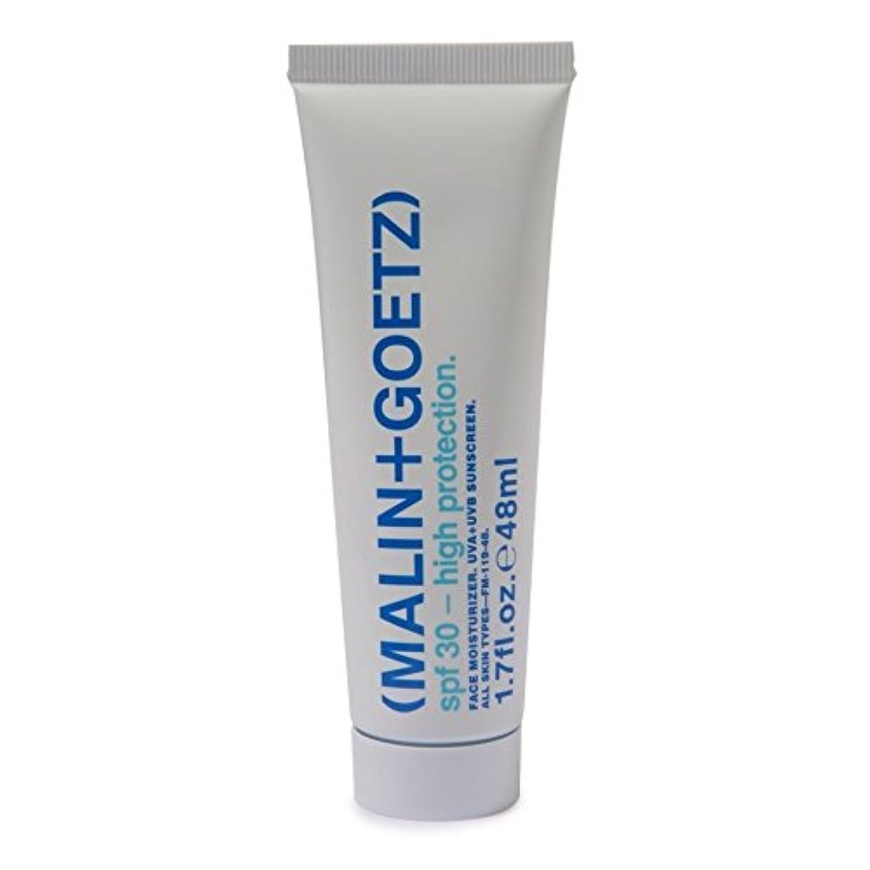 倒錯手段海上MALIN+GOETZ Face Moisturiser SPF 30 48ml (Pack of 6) - マリン+ゲッツ顔の保湿剤の 30 48ミリリットル x6 [並行輸入品]