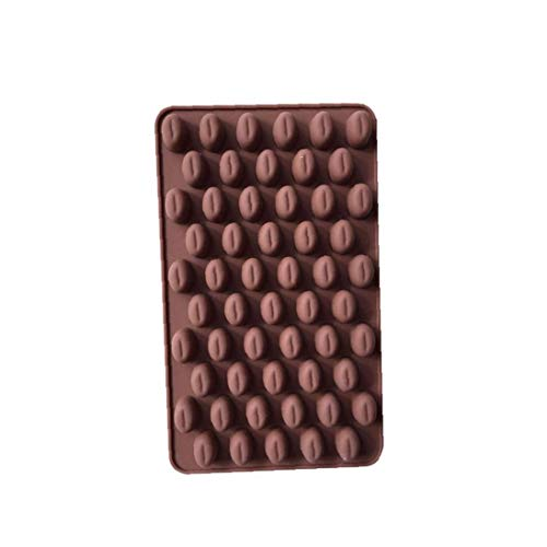 Kaffeebohne Shaped Schokoladen-Form, EIS/Kuchen/Brot/Backformen Schimmelpilze Silikon Non-Stick, Süßigkeit, Kuchen-Dekoration-Form für DIY gelegentliche Farbe