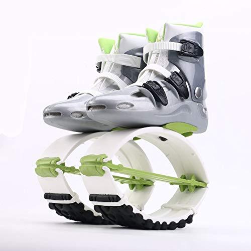 MILECN Jump Boots Für Erwachsene, Jumping Shoes, Bounce Shoe Jumps Rebound Schuhe, Unisex Fitness Jumps Dance Bounce Shoes Übung Für Den Innen- Und Außenbereich,33~35