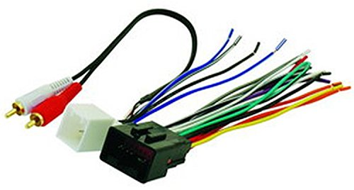 Scosche FDK13B Compatible with 2000-05 Ford Premium Sound & MACH Audio; Power/Speaker and RCA to Sub Amp input Wire Harness / Connectors