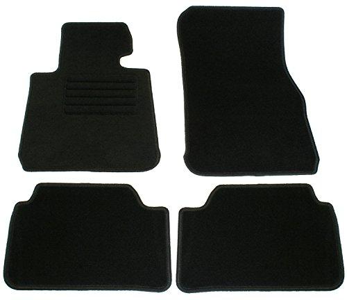 AD Tuning GmbH HG13660 Velours Passform Fußmatten Set, Schwarz