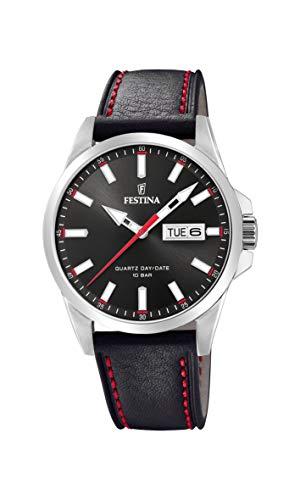 Relógio masculino Festina F20358/4 dia/data 10 ATM