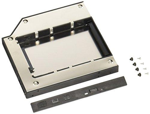 グルービー ノートPC薄型ドライブベイ用 2.5インチ内蔵型HDD/SSDマウンタ [ スリムラインSATA接続ドライブ用 ] GR-SLS250S