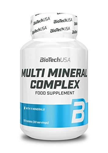 BioTech USA Multi Mineral Complex 100 Tabletten, 1er Pack (1 x 150 g)