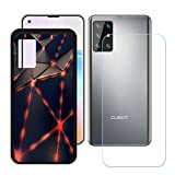YZKJ Case for Hafury GT20 + Tempered Glass Screen