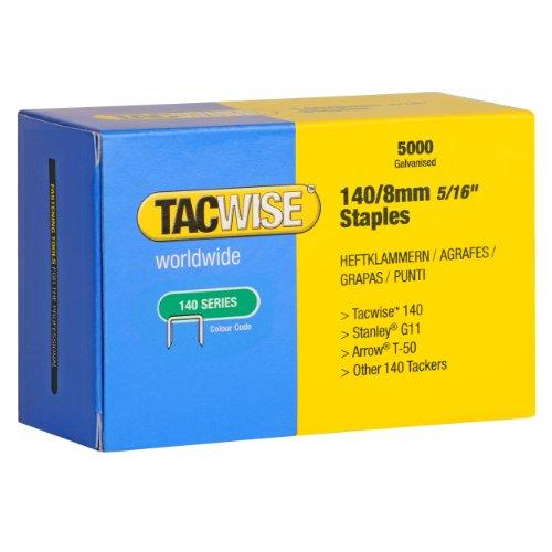 Tacwise Heftklammern Verzinkt 140/8 mm, 5000 Stück, 0341