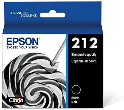 Epson T212 Claria Standard Capacity Cartridge Ink Black T212120 S product image
