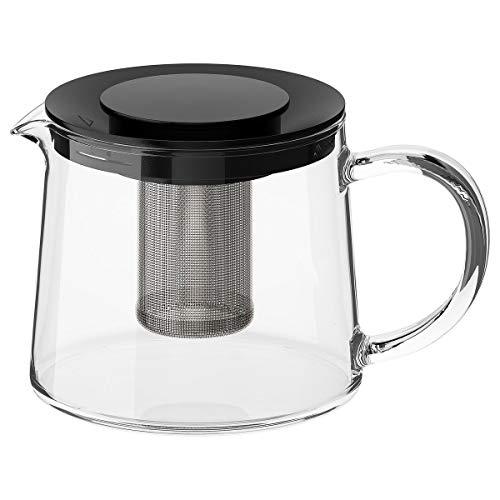IKEA RIKLIG Teekanne Glas 0,6 l