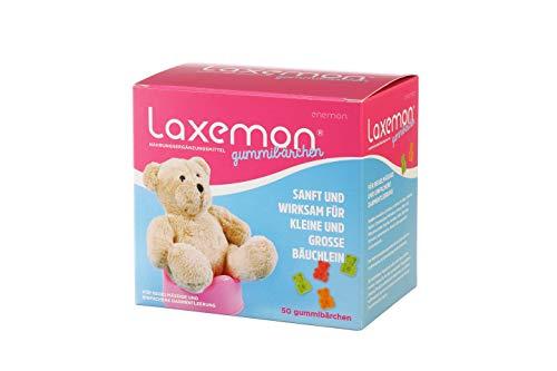 Laxemon Gummibärchen, Kulturen-Komplex Darmsanierung, Abführmittel für Kinder, 50 Gummibärchen für Kinder