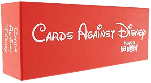 Unbekannt Cards Games Against Disney The Table Cards Game Party Cards Game for Adult (Red Box)