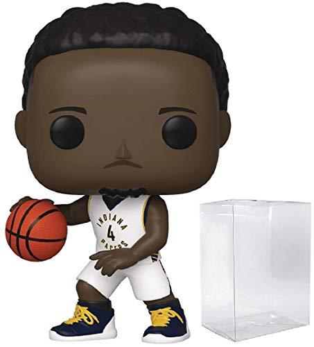 Victor Oladipo Indiana Pacers Pop Sports NBA figura de acción (repleta con protector Ecotek Pop para proteger la caja de la pantalla)