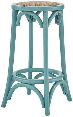 L Anfora Rattan Amphoren Lounge.Amazon Com Riverbay Furniture 24 Rattan Seat Backless Counter