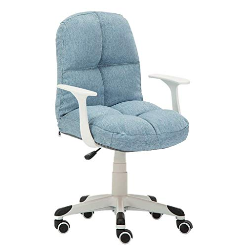 FENXIXI Silla ergonómica Ajustable con Silla de Ordenador Muebles/Muebles de Oficina Silla Individual Habitación Comfort compartida del sillón Giratorio