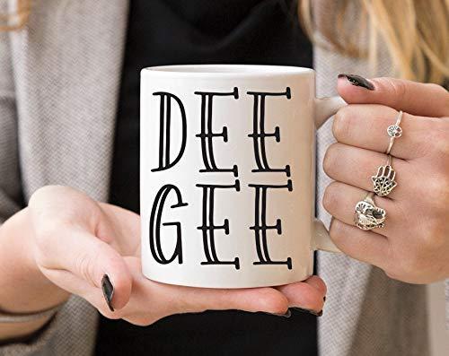 N\A DG Delta Gamma Inline-Becher Sorority Coffee-Becher