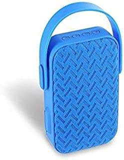 AIBIMY MY220BT Portable Bluetooth Speaker with Hands-free AUX Input USB TF Card Slot - BLUE