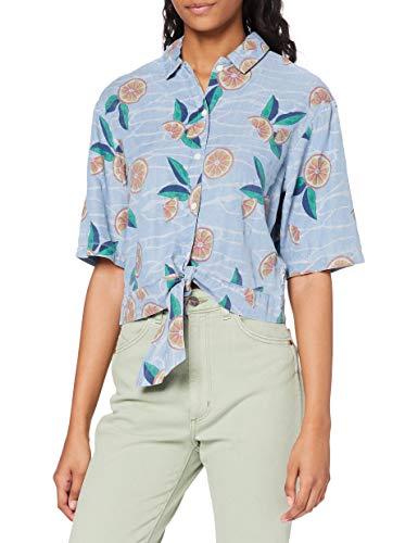 Lee Knotted Resort Shirt Chemises, Piscine, M Femme