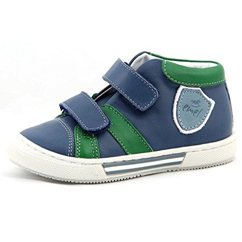 Kinderschuhe Sportschuhe Sneaker Lauflernschuhe blau grün Modell Emel 2451-2 handmade (20)