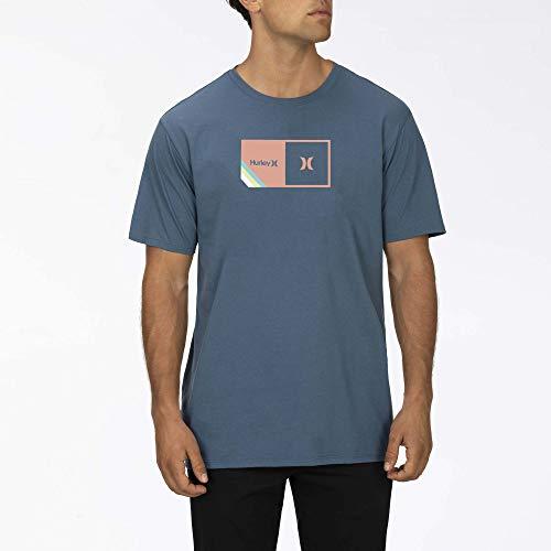 Hurley M Halfer Stripe S/S Camiseta Hombre
