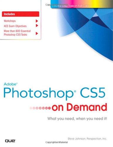 Adobe Photoshop CS5 on Demand