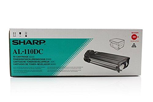 SHARP Original AL-110DC /, für AL-2020 Premium Drucker-Kartusche, Schwarz, 4000 Seiten