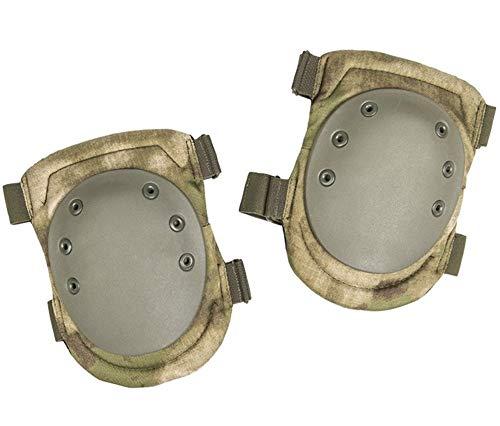 WANGYONG Conjuntos de protección de Rodillos, par de Almohadillas de Rodilla (Color : MIL-TACS FG)