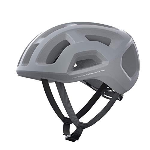 POC Casco de Ciclismo Unisex para Adultos, Color Gris Mate, Talla L (56-61 cm)