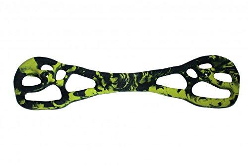 Unbekannt Trainingsbaord Klettergriff Bone 70,5x17x3,5 schwarz-grün