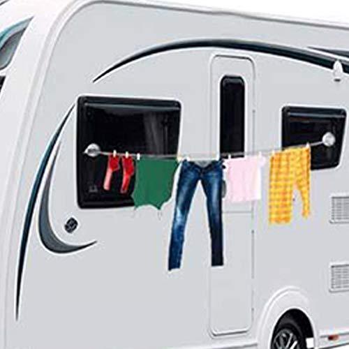 Saugnapf Wäscheleine Wäschtrockner 5,5 Kg Wohnwagen Wohnmobil Camping Caravan Boot