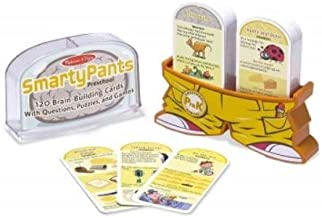 SmartyPants Preschool: 120 Brain-building Cards With Questions, Puzzles, and Games