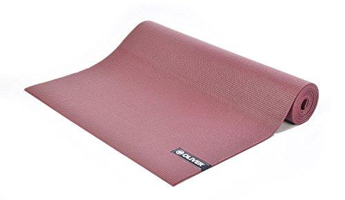 OLIVER Yogamatte Lotau, bordeaux 173 x 61 x 0.6 cm Bodenmatte Yoga Studiomatte