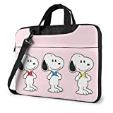 Lovely s Laptop Bag Busin Maletín para hombres y mujeres, hombro Menger portátil manga bolsa de transporte - 15.6 pulgadas