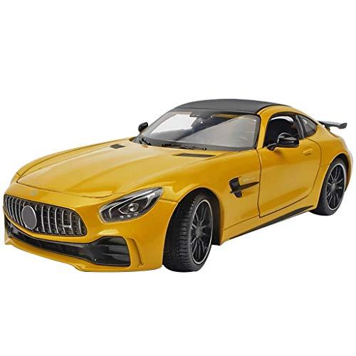 WAA Compatible con el Modelo de automóvil Mercedes-Benz AMG GTR 1:24 Modelo de automóvil de aleación G GTR Clase S Grande decoración de Escritorio Modelo de automóvil Deportivo G500
