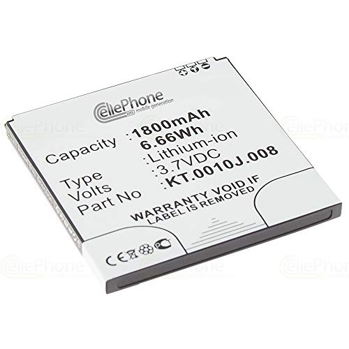 cellePhone batería Li-Ion para Acer Liquid E2 V370 (reemplazado KT.0010J.008)