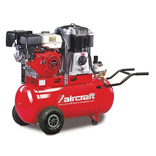 Aircraft - AIRBAU 652/100 B PRO - Compresor de pistón móvil con motor de gasolina.