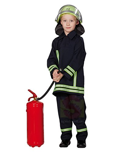 Rubies Kinderkostüm - Feuerwehrmann Gr. 104