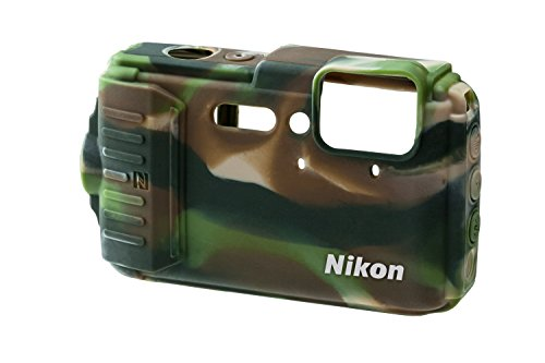 Nikon France vjd00106Camouflage Silicone Case for COOLPIX AW130