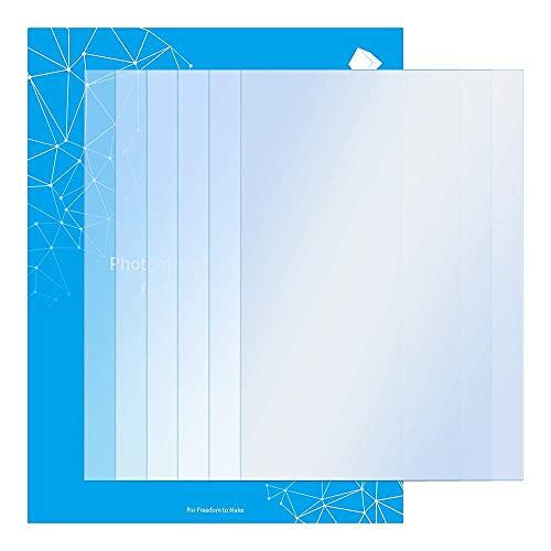 ANYCUBIC 5 Stück FEP-Film für Photon Mono X Teflon-Film Ersatzfolie 8,9 Zoll 290 x 220 x 0,15 mm für Photon Mono X UV LCD SLA Harz 3D-Drucker