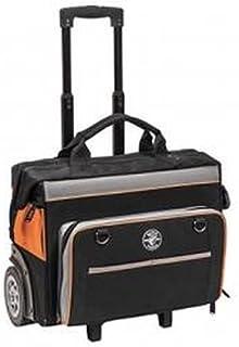 Klein Tools 55452RTB Tool Bag, Water Resistant Tool Storage Organizer Rolls on Rugged..