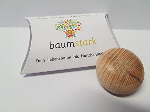 Baumstark Eibe 45mm mit Baumhoroskop (3.11. -11.11.) Handschmeichler, Holz, 8 x 11.5 x 2.8 cm