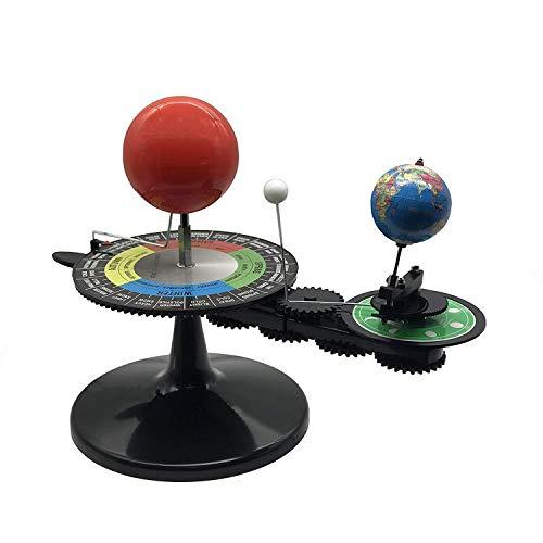 Sun Earth Moon Orbital Model with Light, Kids Solar System Model...
