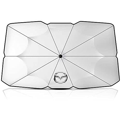 NASHDZ Auto Sonnenschutz Sonnenschirm Auto Windschutzscheibenschutz Zubehör,Für Mazda 3 6 Atenza CX-3 CX-4 CX-5 CX5 CX-7 CX-9